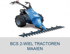 BCS tuinfrees kopen bcs tractoren maaien